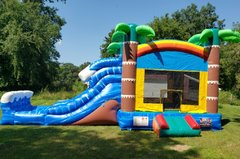 16' x 32' Tropical Water Slide Combo