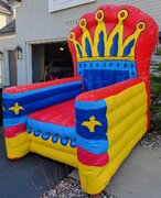 Giant Inflatable 9' Birthday Chair