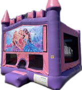 Barbie 15 x 15 Pink Castle