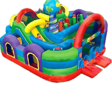 28 X 29 Wacky World Giant Inflatable Maze Adventure