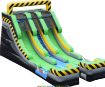 CAUTION SLIDE 15 FT