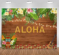 LUAU BACK DROP