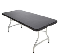 BLACK 6' TABLE