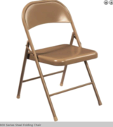 Folding chairs METAL