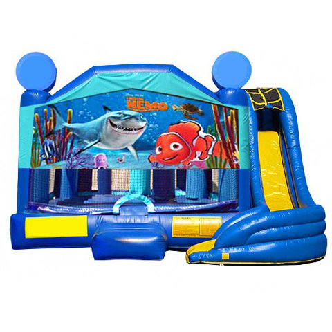 5 in 1 Obstacle Combo - Finding Nemo Window
