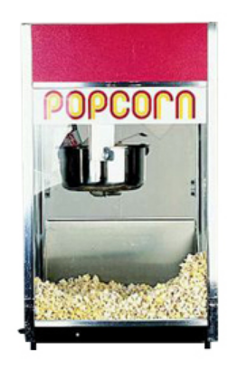 Popcorn machine includes 70  servings