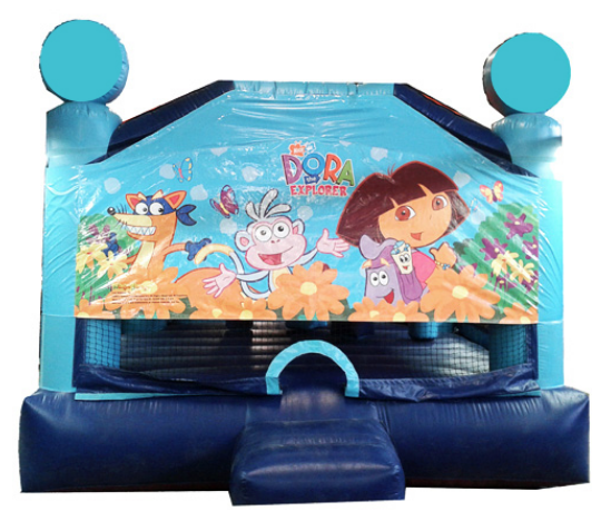 Obstacle Jumper - Dora the Explorer Window