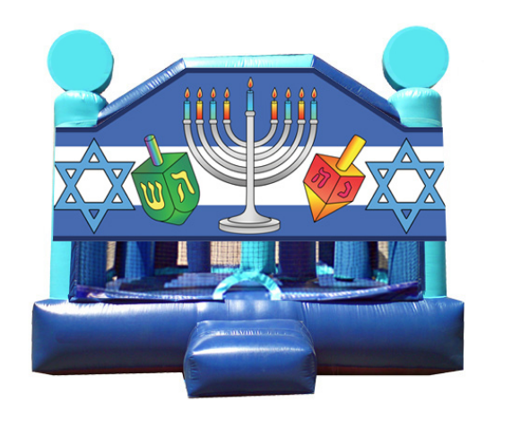 Obstacle Jumper - Hanukkah Window