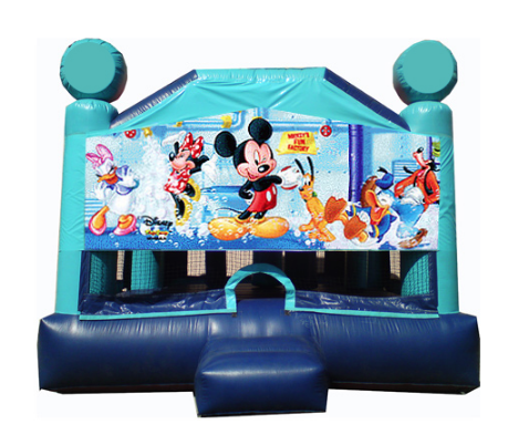 Obstacle Jumper - Mickey Mouse Window
