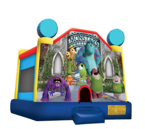 Obstacle Jumper - Monsters University