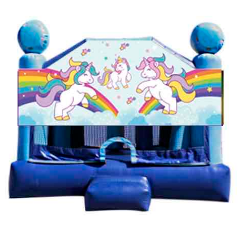 Obstacle Jumper - Unicorns Window