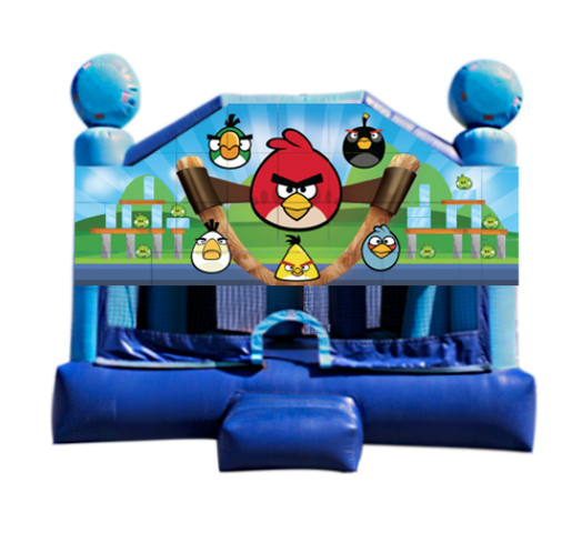 Obstacle Jumper - Angry Birds Window