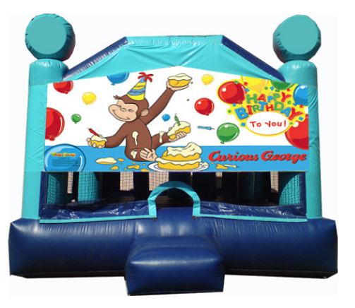 Obstacle Jumper - Curious George Window