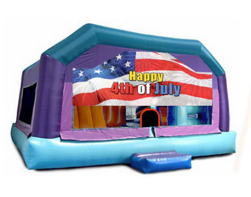 Little Kids Playhouse - 4th of July Window