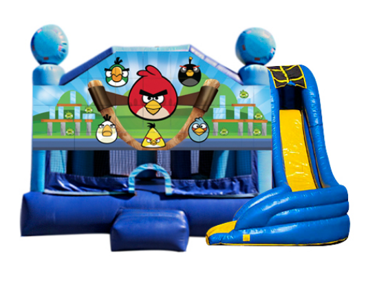 5 in 1 Obstacle Combo - Angry Birds Window