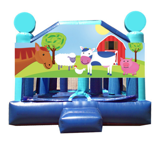 Obstacle Jumper - Barnyard Pals Window