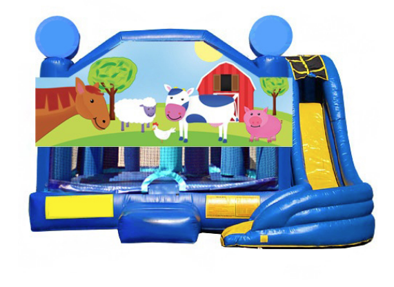 5 in 1 Obstacle Combo - Barnyard Pals Window