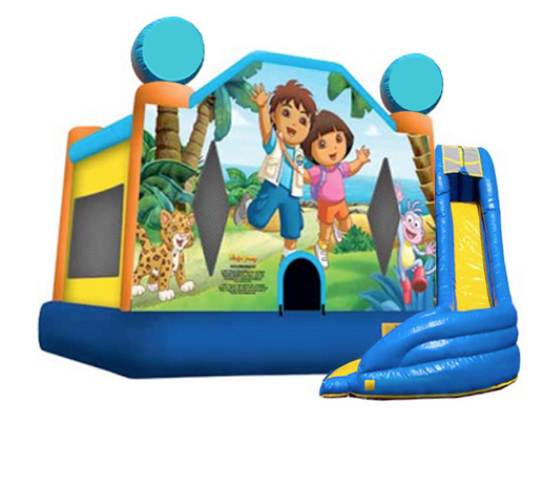 5 in 1 Obstacle Combo - Dora & Diego