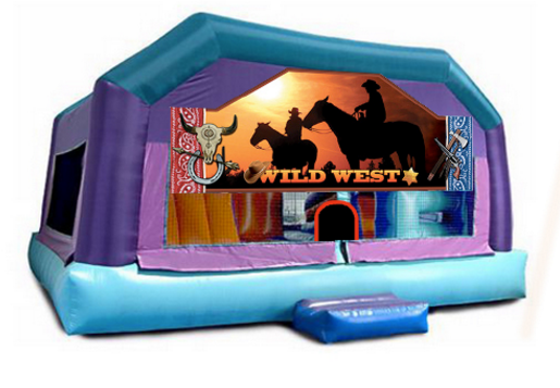Little Kids Playhouse - Wild West Window