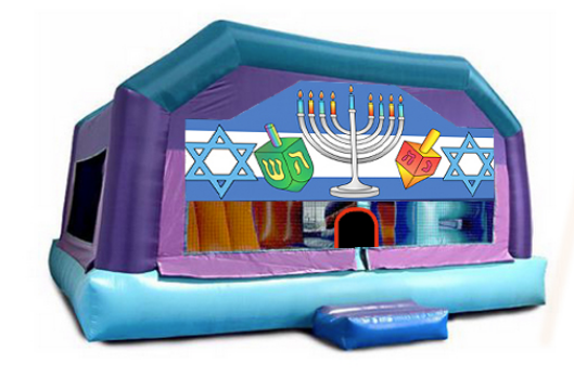 Little kids Playhouse - Hanukkah Window