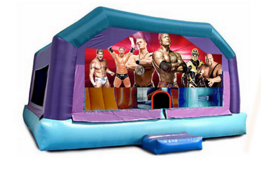 Little Kids Playhouse - Wrestling Window