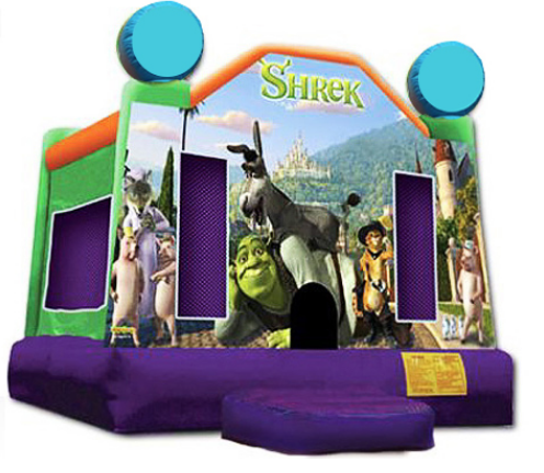 Obstacle Jumper - Shrek