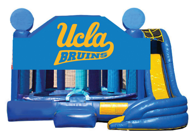 5 in 1 Obstacle Combo - UCLA Bruins Window