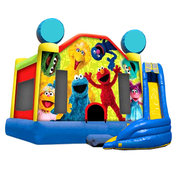 5 in 1 Obstacle Combo - Sesame Street