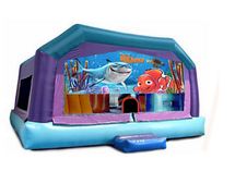 Gigantic Jump - Finding Nemo Window