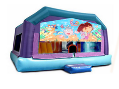 Gigantic Jump - Dora the Explorer Window