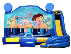 5 in 1 Obstacle Combo - Dora the Explorer Window