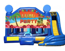 5 in 1 Obstacle Combo - Luau Party