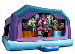 Gigantic jump - Monster High Window