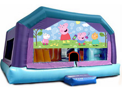 Gigantic Jump - Peppa Pig Window