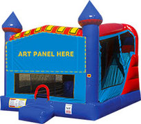 Basketball Hoop and Slide Combo (Blue)