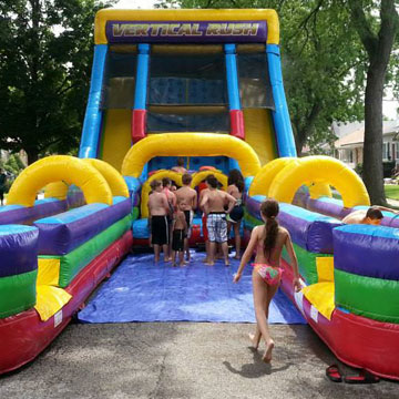 chicago water slide rental