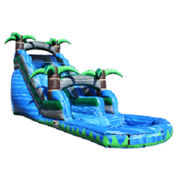 rent inflatable water slides chicago