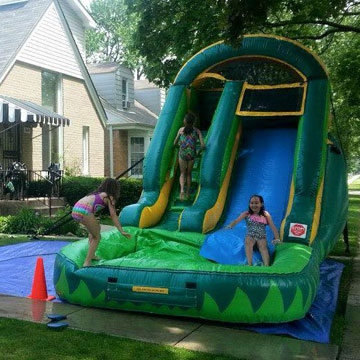 water slide rentals chicago il
