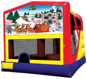 Christmas Bounce House Combo 4n1