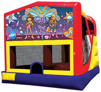 It's a Girl Thing Bounce House Combo 4n1