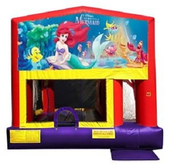Little Mermaid Bounce House Combo 4n1