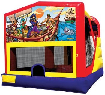 Pirate Bounce House Combo 4n1