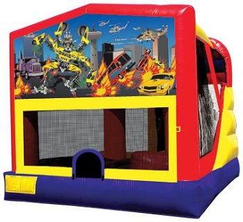 Transformers Bounce House Combo 4n1