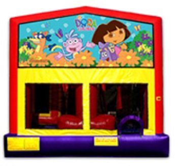 Dora the Explorer Bounce House Combo 4n1