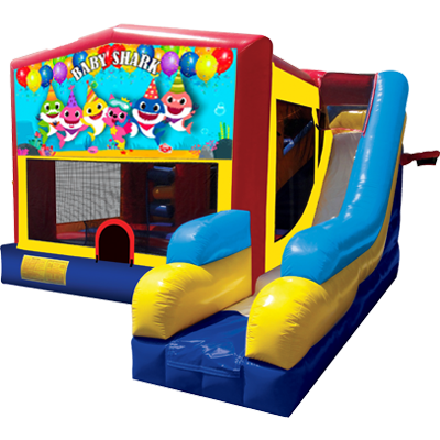 Baby Shark Bounce House Combo 7n1
