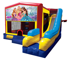 Barbie Bounce House Combo 7n1
