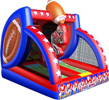 First Down Inflatable Football Game