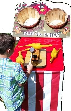 Flip - A - Chick Mallet Game