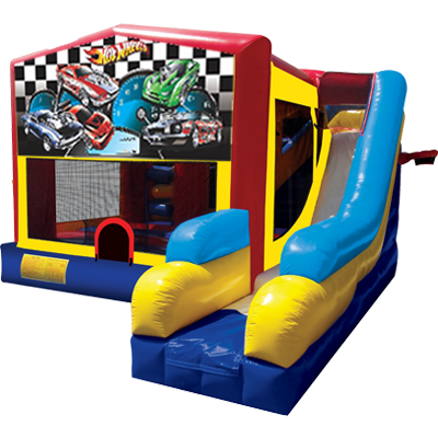 Hot Wheels Bounce House Combo 7n1