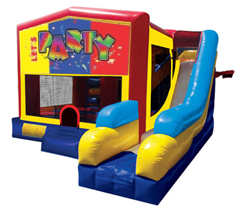 Lets Party Bounce House Combo 7n1